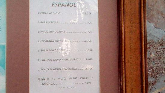 Bar Restaurante España: se ve lo que es su especialidad