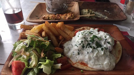 Exceptional greek authentic taste and greeting picture of nostimo nostimo greek grill bali exceptional greek authentic taste and greeting m4hsunfo