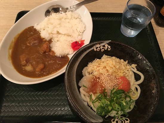 Hanamarudon Shibuya Park Dori : はなまるうどん 渋谷公園通り店
