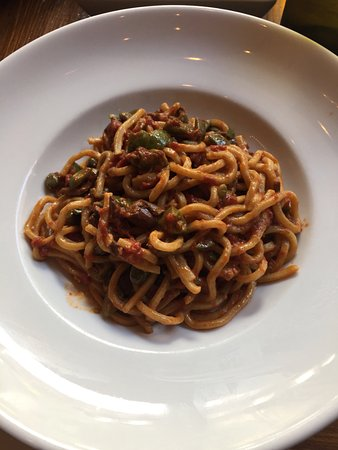 New spin on seafood pasta