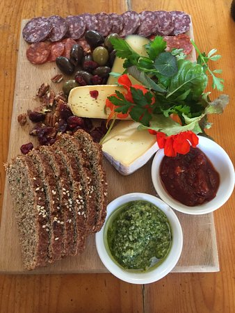 Bantry House & Garden: Cheese and Meat Board