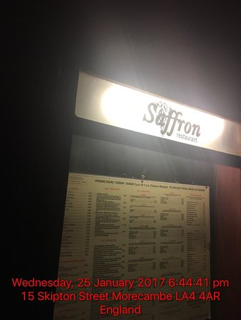 Saffron Restaurant : photo0.jpg