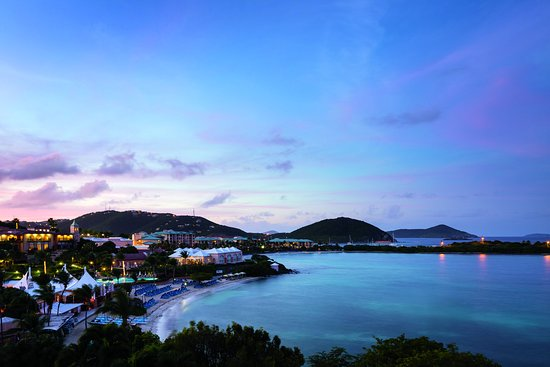 The Ritz-Carlton, St. Thomas: Overview Dusk