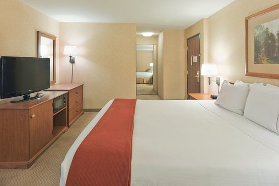 Holiday Inn Express Bishop: King Bed Guest Room