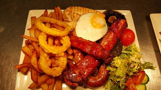 The General Burgoyne: Mixed Grill