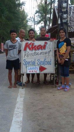 Khaolak Orchid Beach Resort: Unser Lieblingsrestaurant Khai