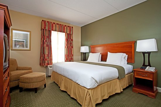 Conover, Carolina del Norte: King Bed Guest Room