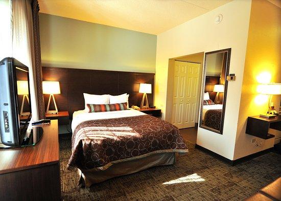 Staybridge Suites Chicago Oakbrook Terrace: Studio Suite Queen Single Bed Guest Room