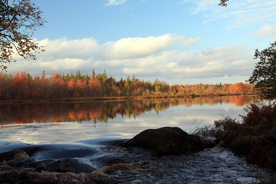 East Kemptville, Canada: River