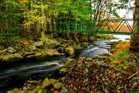 East Kemptville, Canada: Footbridge
