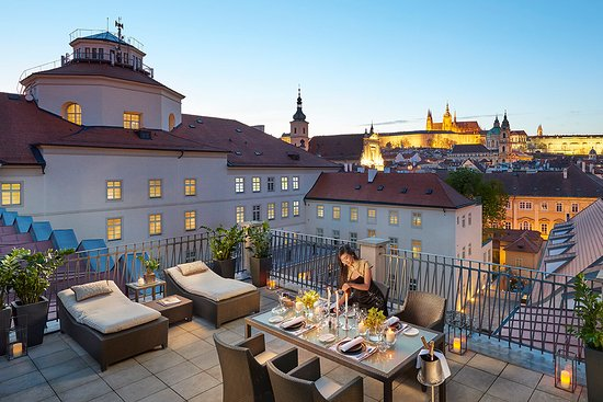 Mandarin Oriental, Prague: Presidential Suite Terrace