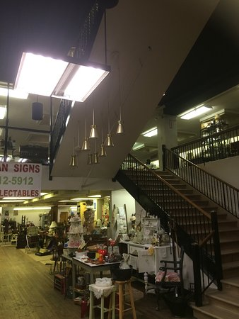 Steubenville, OH: Interior of store