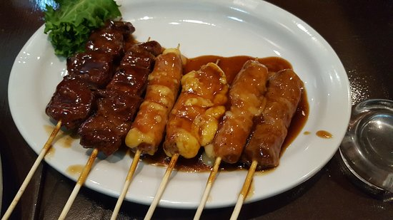 Kiotori: Beef and cheese rolls
