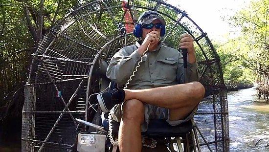 Jungle Erv's Everglades Airboat Tours: Jungle Erv's Mangrove Tour - Captain Brian