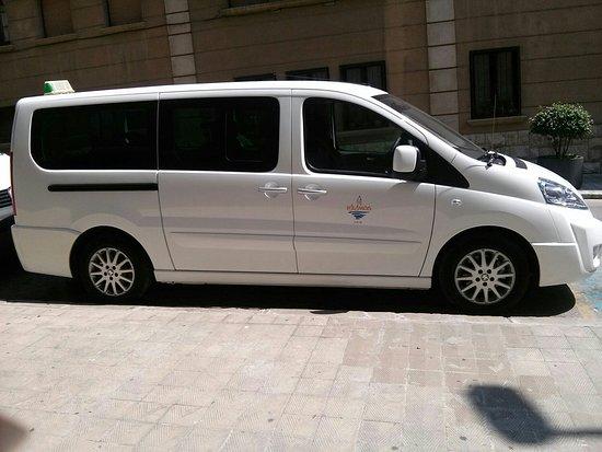 Taxis Palamós Felipe Recio 8 pax