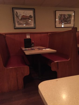 Nanticoke, PA: Dinning Room Booth