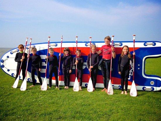 Surfschule Norddeich: SUP für bis zu 10 Personen
