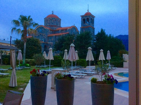 Castello Boutique Resort & Spa: A veiw from the dinning room!