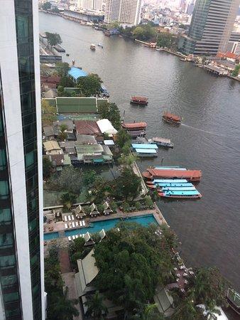 The Peninsula Bangkok: View from 20th floor