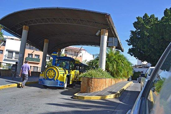 Coín, España: The bus station