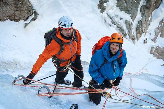 Freissinieres, فرنسا: Alpinisme Hivernal dans les Ecrins