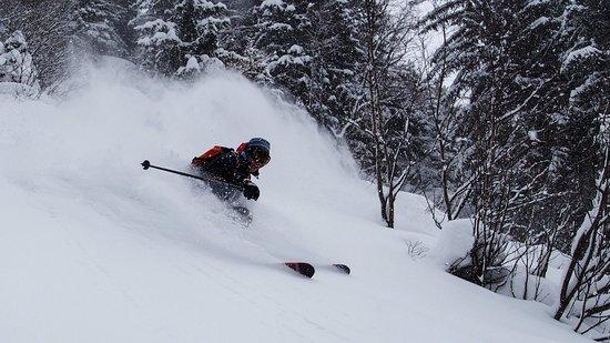 Freissinieres, Fransa: Ski freeride la Grave la Meije