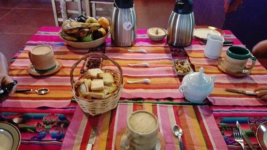 Chakana Hospedaje Rural: Desayuno