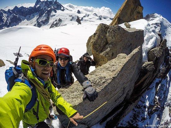Freissinieres, Fransa: Stage Alpinisme à Chamonix