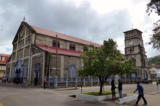 Immaculate Conception Church: Cathédrale de l'Immaculée Conception, Castries, Sainte-Lucie