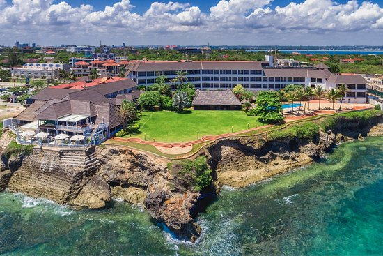 Sea Cliff Hotel: Aerial photo