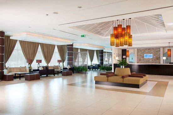 Holiday Inn Express Dubai-Internet City : Hotel Lobby