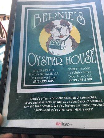 Bernie's Oyster House: photo0.jpg