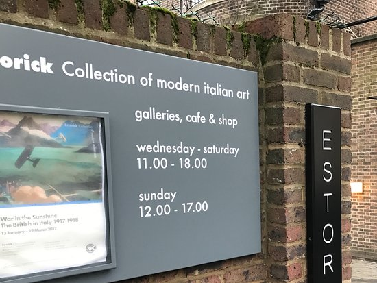 Estorick Collection of Modern Italian Art: Entrance And Hours