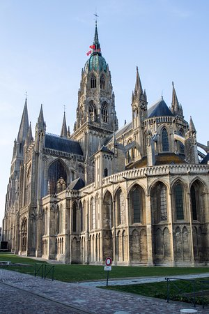 Bourges, France: Huge Cathedral in this Small Town