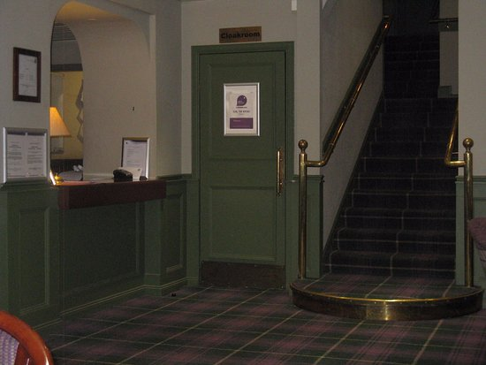 Strathblane, UK: reception desk
