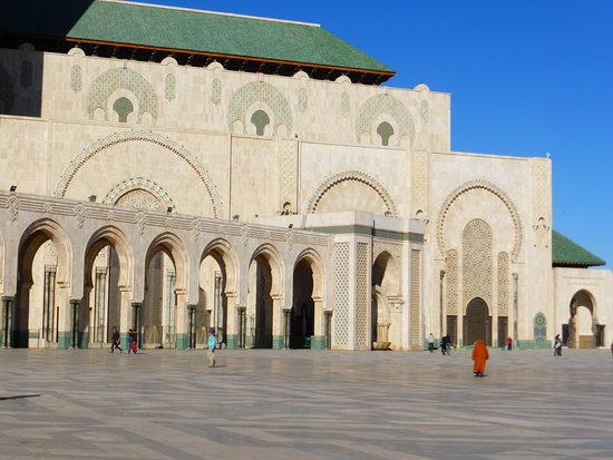 Hassan II Mosque: the largest mosque in Africa