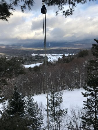 Bretton Woods, NH: zipline