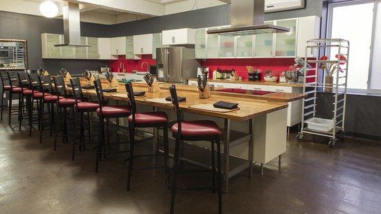 La Guilde Culinaire: Salle de cours / Cooking Classoom