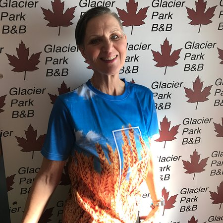 Glacier Park Bed and Breakfast: .... How cool is this. Flat Clothing, Saskatchewan Shirts.