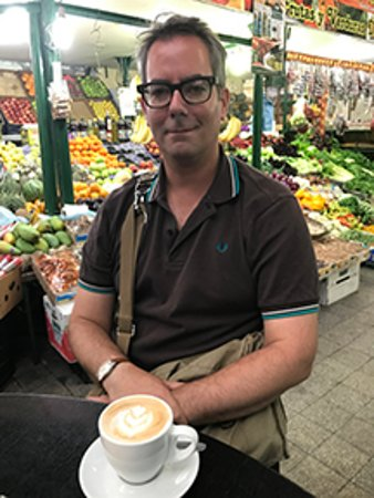 BuenosTours: Ceri at Coffee Town in San Telmo, Buenos Aires
