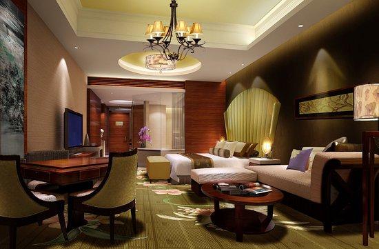 Jianyang, Çin: 1 King Bed Duluxe Lake View Room