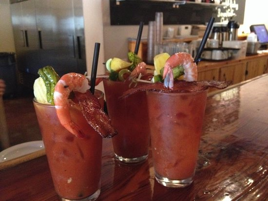 Maupin, OR: Hooked Up Bloodys