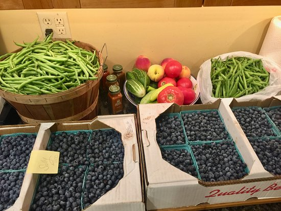 Mayville, NY: Fresh picked local produce