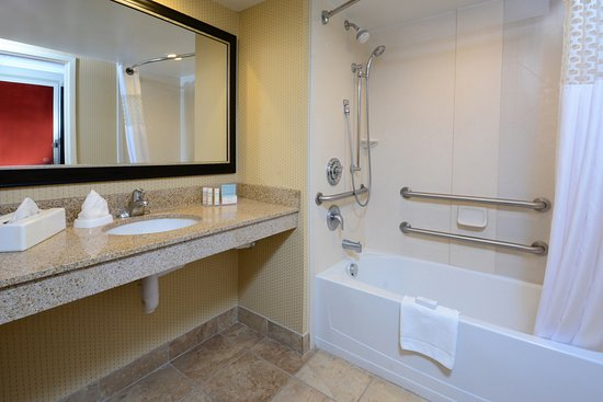 Accessible Tub - Accessible Room - Picture of Hampton Inn Raleigh ...
