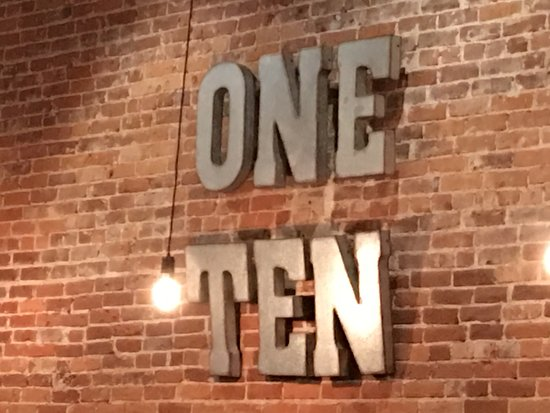 One Ten Resturant, Warsaw, Indiana