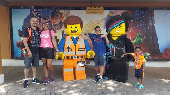 LEGOLAND Florida Resort: Personagens Lego