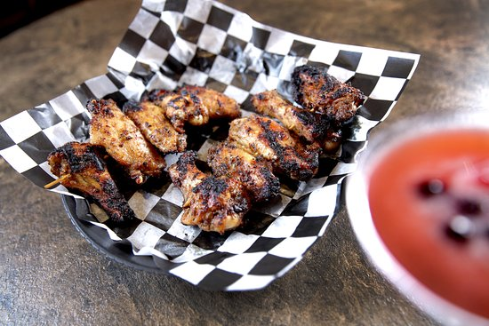 Walker, MI: House Caribbean Marinated Grilled Wings