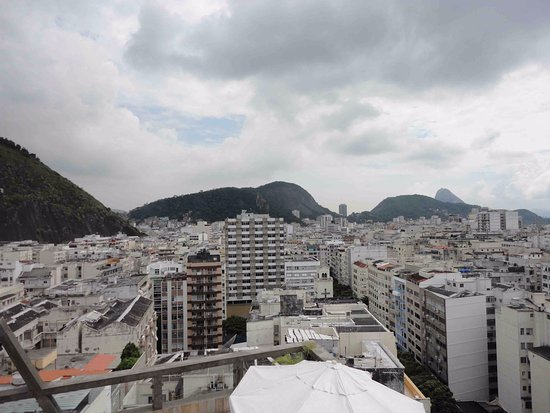 Augusto's Copacabana Hotel: View from the rooftop
