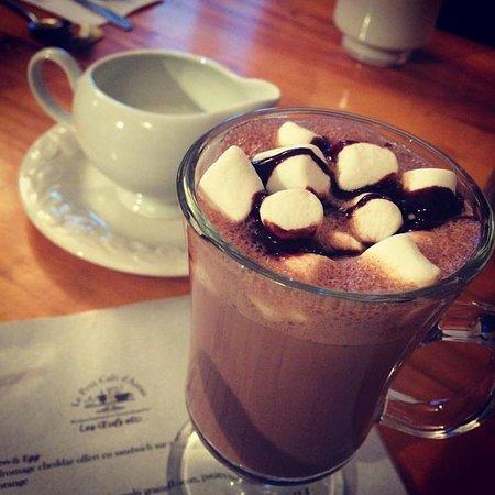 Saint-Come, Canada: Délicieux chocolat chaud!