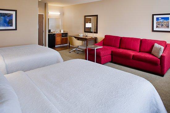 Hampton Inn & Suites Palmdale : 2 Queen  Studio Suite
